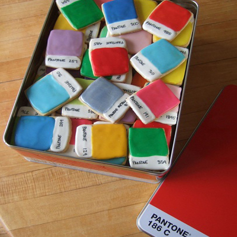 Pantone Cookies by Kim Neil