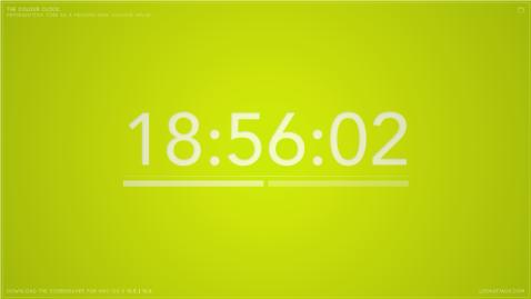 The Colour Clock: 18:56:02
