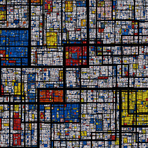 Mondrian | it's a small web