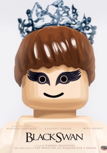 Lego Black Swan