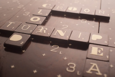 A-1 Typography Scrabble