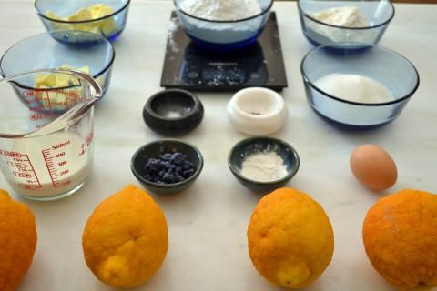 bergamot cupcakes ingredients
