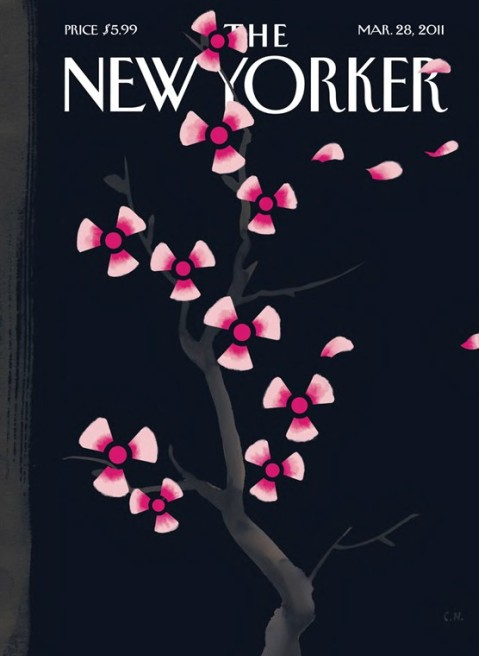 Japan New Yorker cover