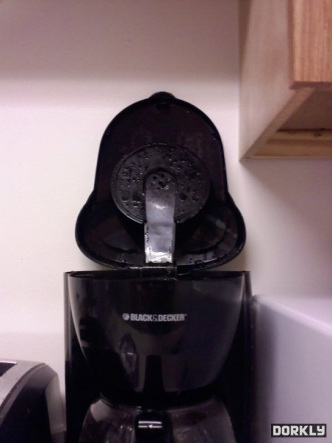 Darth Vader coffee maker