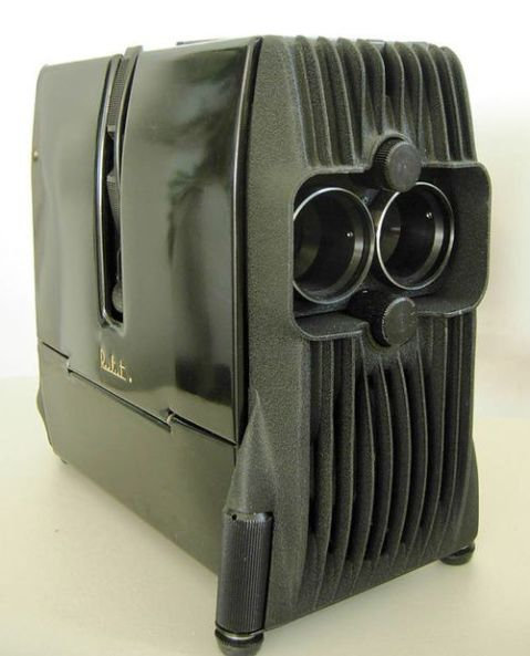 Darth Vader slide projector