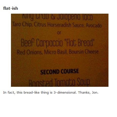flat-ish