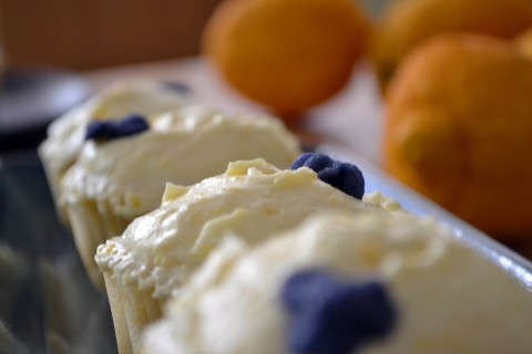 Fragrant bergamot cupcakes (earl grey)