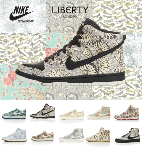 Liberty of London Nike trainers