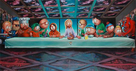 South Park Art