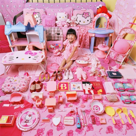 Yealin Yang and Her Pink Things