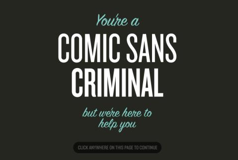 comics sans criminal