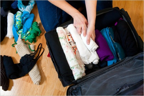 pack the lighter stuff on top of the heavier stuff