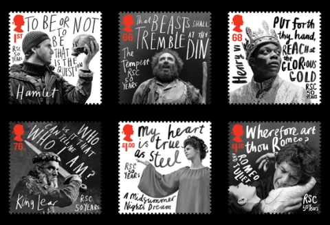RSC 50 years stamps