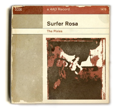 The Pixies Surfer Rosa book