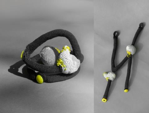 Uloni's crochet bracelet