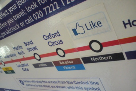 like tube sticker