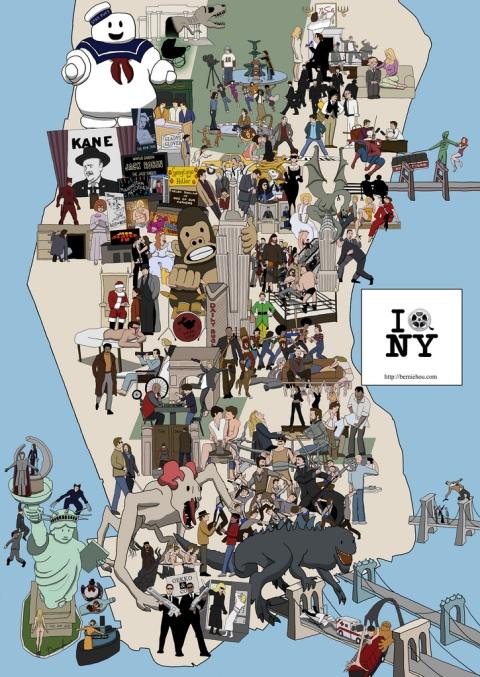 New York movie history