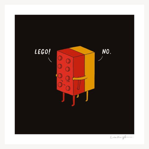I will never lego