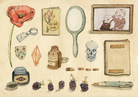Sylvia Plath Treasures